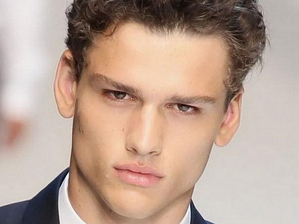 Hairstyles For Men Thick Hair New Trends Curly