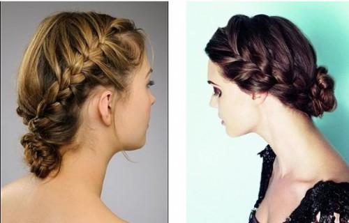 Hairstyles Wedding Braided Updo How