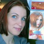 Here Comparison Copper Color Hair Dye Box Cover