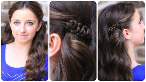 How Create Sides Slide Hairstyle