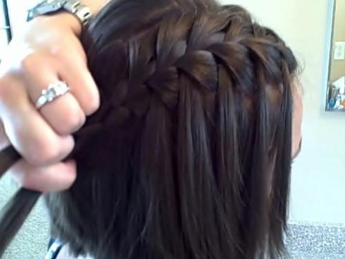 How Create Waterfall Braid Diy Minutes