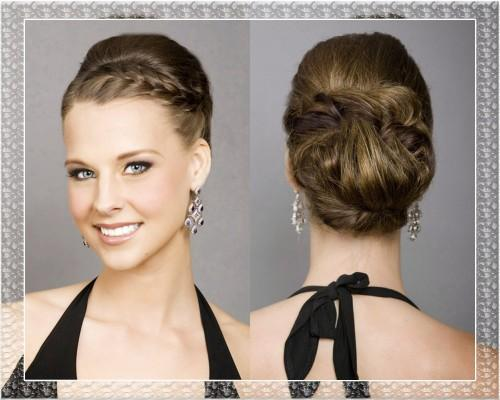 How Hairstyles For Long Hair Updos Half
