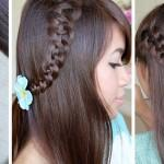 How Str Braid Hairstyle For Medium Long Hair Diy Tutorial