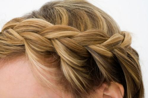 How Style Vintage Princess Braided Updo