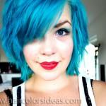 Karolina Turquoise Hair Color