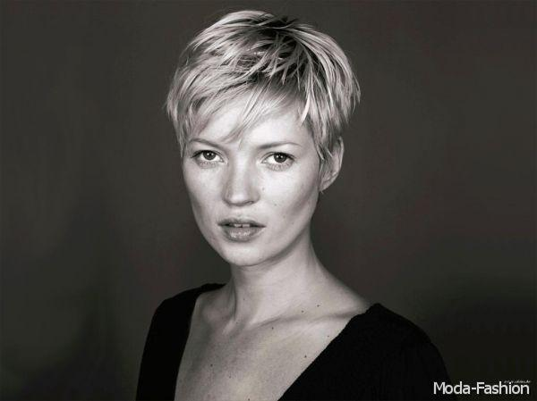 Kate Moss Short Hairstyle