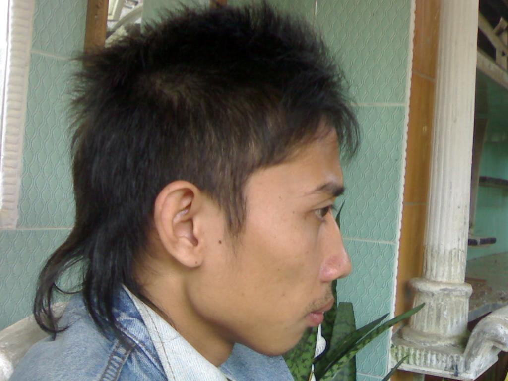 Korean Hairstyle For Men Semi Mohawk Taper Fade Mohawkbarber