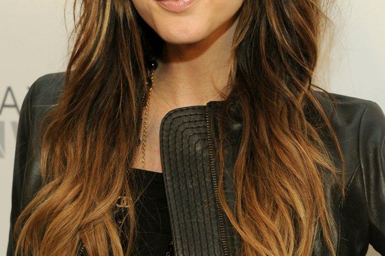 Long Dark Hairstyles Hairstyle Stylish Ombre Collections