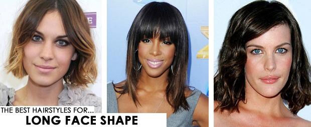 Long Face Shape Hairstyles
