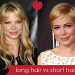 Long Hair Short Except Michelle Williams All
