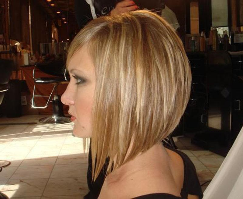 Long Inverted Bob Hairstyles Short Choppy