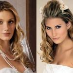 Long Wavy Hairstyle Idea For Wedding