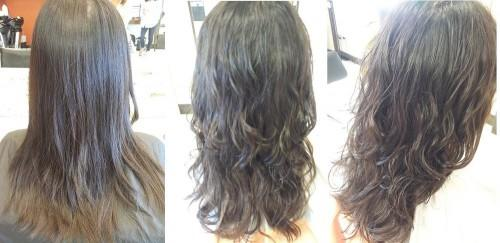 Loose Perm Before After