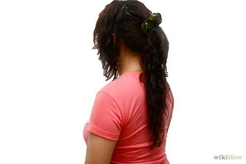 Make Your Hair Look Short Step