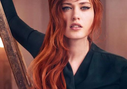 Manage Red Hair Ombre Look