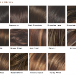 Medium Brown Hair Color Chart