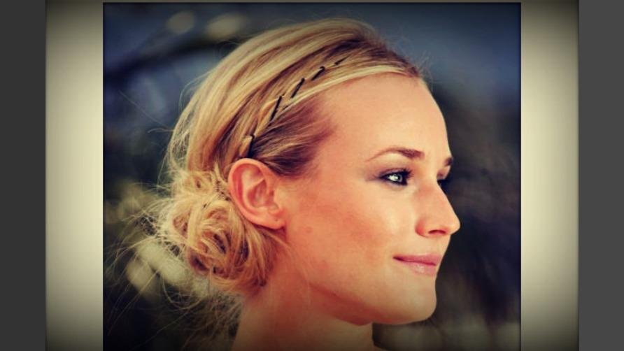 Medium Length Hair Quick Easy Updos Cute Hairstyle For