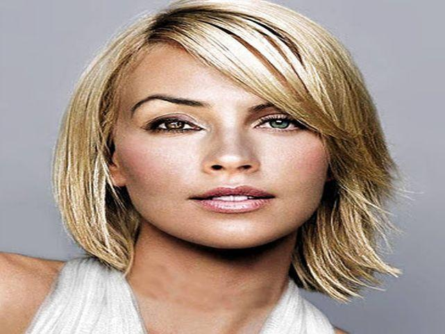 Medium Length Hairstyles For Thick Hair Shoulder Haircuts