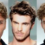 Mens Hair Trends Haircuts Curly Quiff