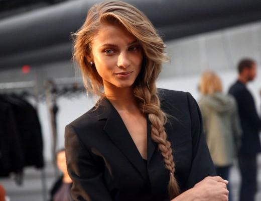 Messy Braid Hairstyle For Cute Girls