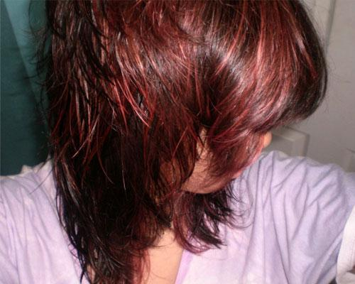 Messy Red Highlights