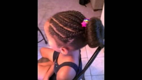Mixed Girls Hair Styles
