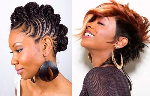 Mohawk Hairstyles For Black Women