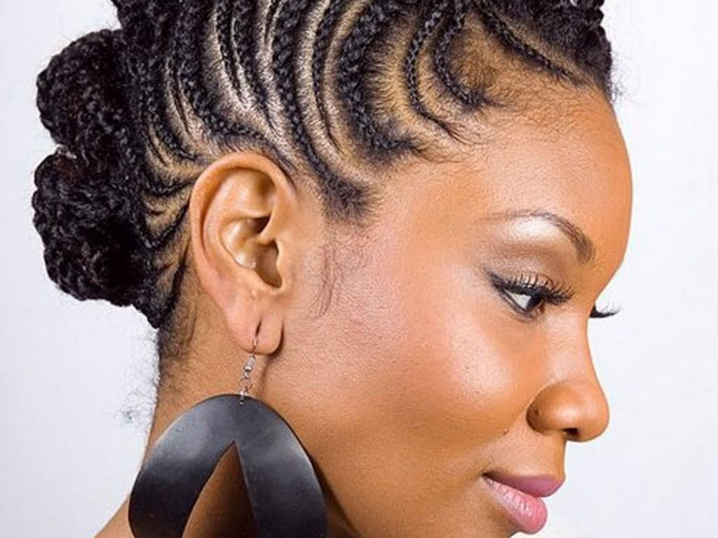 Mohawk Hairstyles For Black Women Nice Braided
