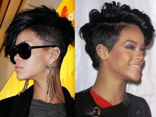 Mohawk Hairstyleshairstyles Rihanna Hairstyles For