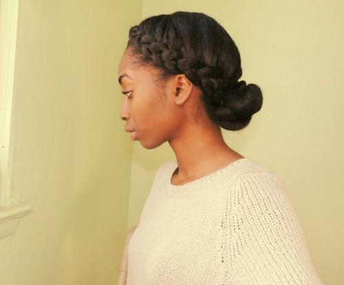 Natural Hair Hairstyles For Pictures