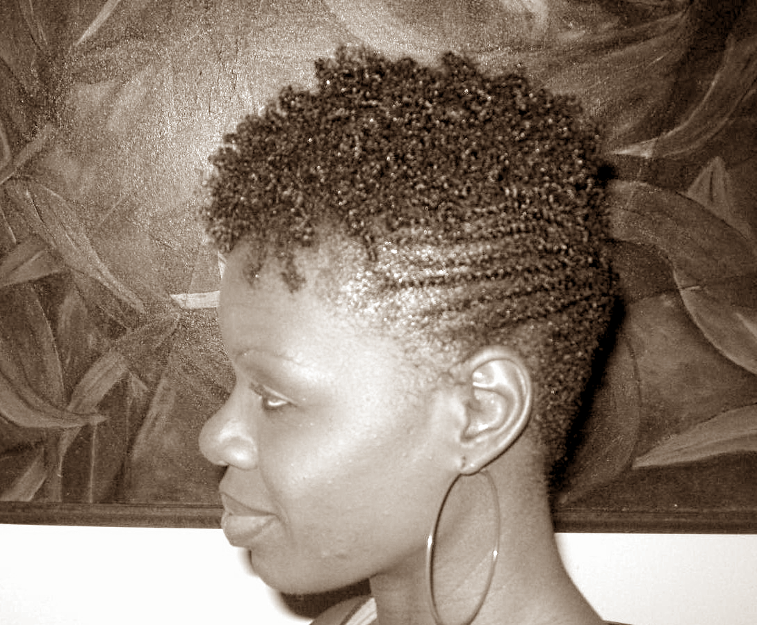 Natural Hair Summer Hairstyle Twist Out Flat Twists Updoflat