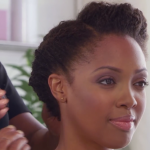 Natural Hairstyles Updo Kim Kimble Hey