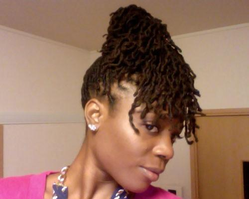 Natural Hairstyles Updos Crinkle Short Haircuts