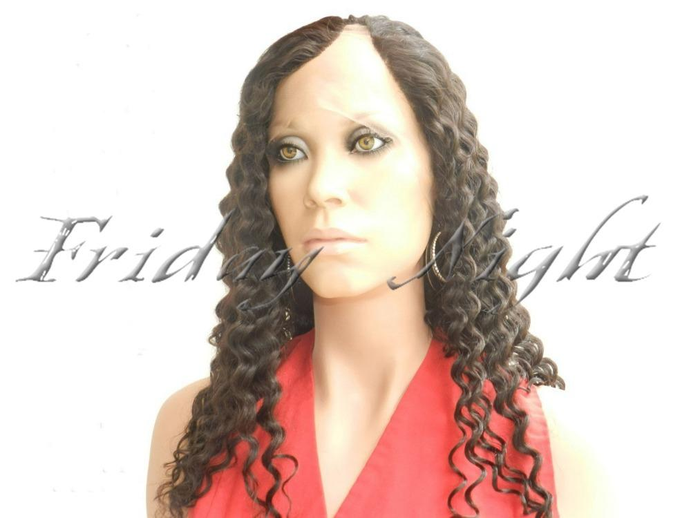 New Curly Hairstyle Side Part Middle For Choose Top Quality