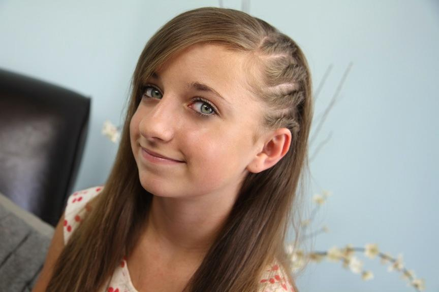 New Cute Hairstyles For Girl Spring Summer