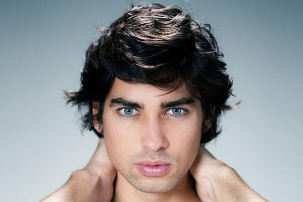 New Medium Curly Hairstyles For Men Thick Hair