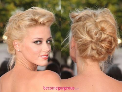 New Year Eve Updo Hairstyles