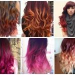 Ombre Burgundy Hair Color