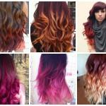 Ombre Burgundy Hair Color Ideas