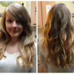 Ombre Curly Hair Care Routine