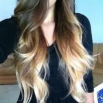 Ombre Hair Brown Blonde Hcx