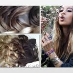 Ombre Hair Extensions Dipdye Dark Brown Wheat Blonde Fade