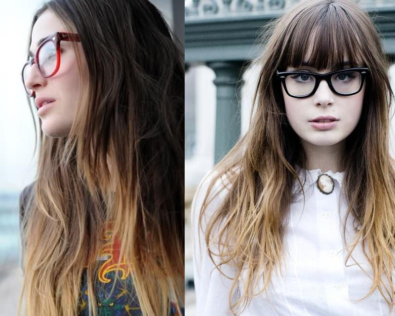 Ombre Highlights Cool Hair Color Ideas
