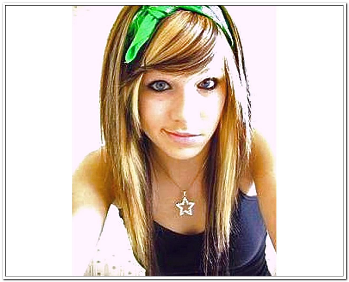 Picture Girl Medium Hairstyles For School