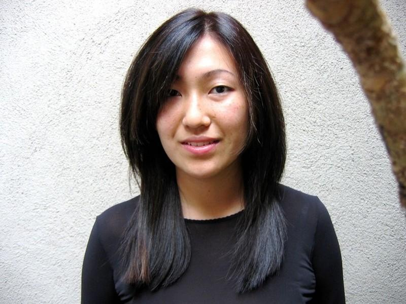 Picture Long Straight Hairstyle For Asian Women