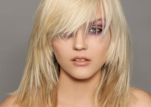 Picture Ofhairstyles Shoulder Length Bangs Ekhhr