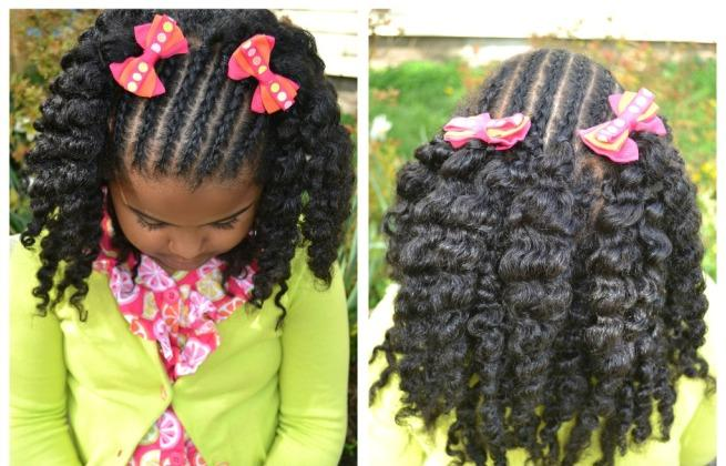 Pictures African American Little Girl Braid Hairstyles Girls
