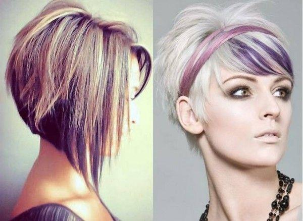 Pixie Haircuts For Round Faces Purple