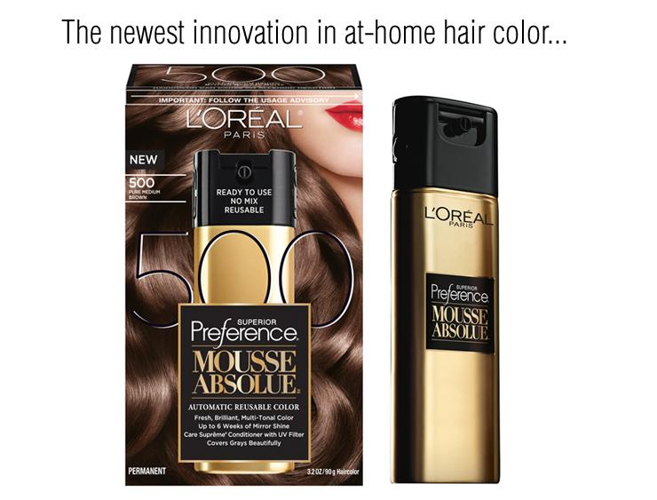 Preference Mousse Absolue Automatic Reusable Hair Color Tell About