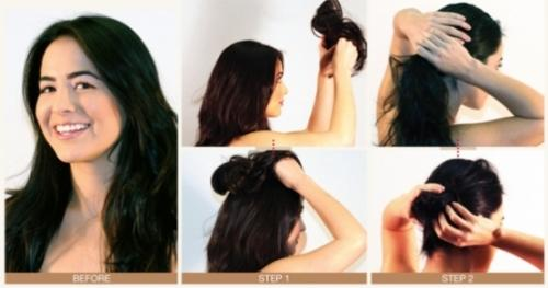 Previous Image How Hairstyle Step